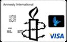 Amnesty International Standard Rate Credit Card