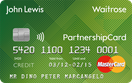 John Lewis and Waitrose Partnership Credit Card
