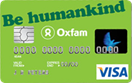 Oxfam Flat Rate Charity Credit Card